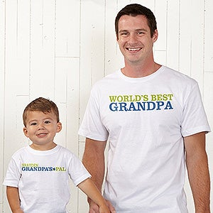 Personalized Grandpa & Grandkids Apparel - Grandpa's Favorite - 14440