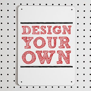 Design Your Own Custom Street Sign - 14468