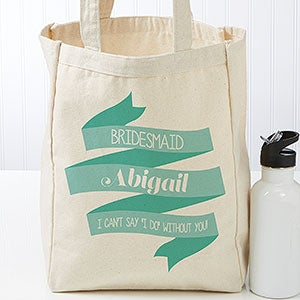 Personalized Tote Bags - Wedding Celebration