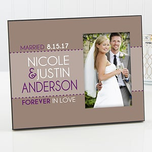 Personalized Picture Frames - Forever In Love - 14500
