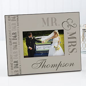 Personalized Wedding Picture Frames We Said I Do 14501