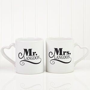 personalized couples coffee mug set happy couple