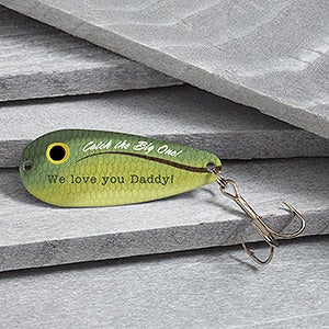 Personalized fishing lures big catch for Names of fishing lures