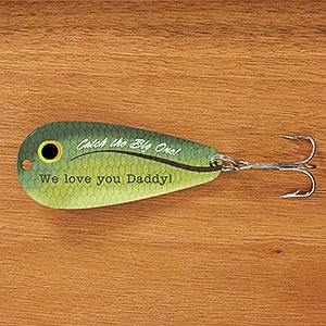 Personalized Fishing Lures - Big Catch - 14541