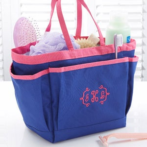 Personalization Mall Personalized Shower Caddy with Monogram - Blue at Sears.com