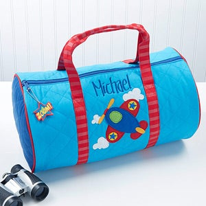 Personalized Kids Duffel Bags - Airplane - 14552