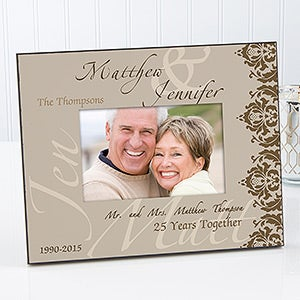 Personalized Anniversary Picture Frames - Anniversary Couple - 14574