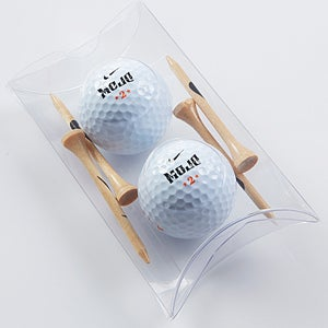 Nike Mojo Golf Ball & Golf Tee Gift Pack - 14582