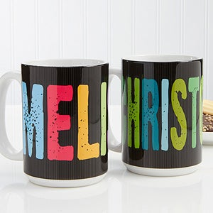 Personalized Custom Name Coffee Mugs - All Mine - 14592