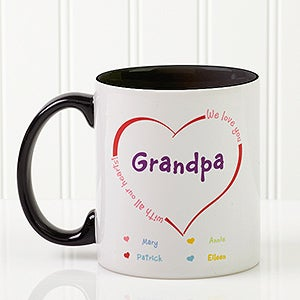 Personalized Coffee Mugs - All Our Hearts - 14620