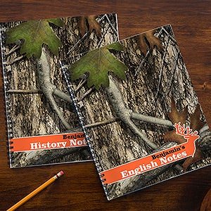 Personalized Camoflauge Notebook Set - Tree Camo - 14632