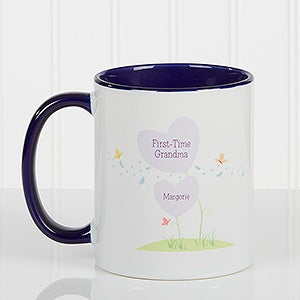 Personalized Coffee Mugs - First Time Grandma - 14648