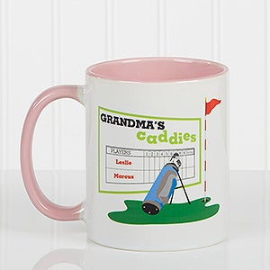 Personalized Golf Coffee Mugs - Favorite Caddies - 14649