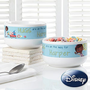 Personalized Disney Doc McStuffins Bowl - Kids - 14659