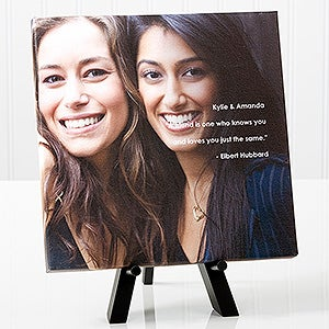 Personalized Friends Canvas Prints - Photo Sentiments - 14663