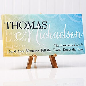 Inspiring Professional Personalized Canvas Print - 14675
