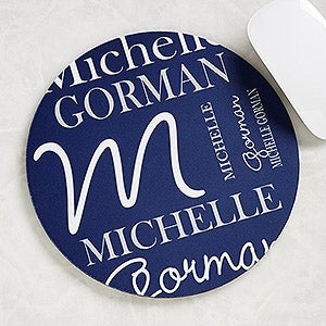 Personalized Mouse Pads - Personally Yours - Round - 14698