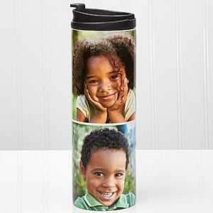 Personalized Photo Collage Travel Tumbler - 14700