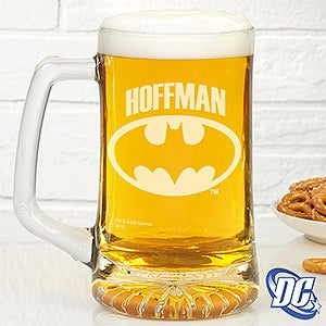 Personalized Batman Beer Mug - Beer Glass - 14710