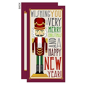 Personalized Christmas Card - Nutcracker - Postcard - 14716