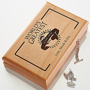 Custom Personalized Wooden Valet In World's Greatest Design - 1473