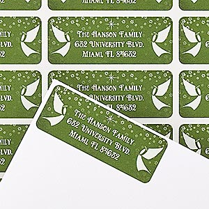 Personalized Address Labels - Glory Be To God - 14758