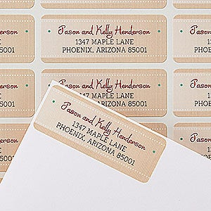 Personalized Return Address Labels - Christmas Wish List - 14763