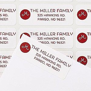 Personalized Return Address Labels - Holiday Joy - 14776