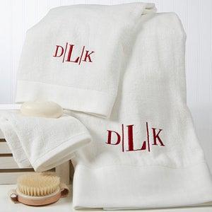 Personalized Bath Towel Set - Divine - 14798