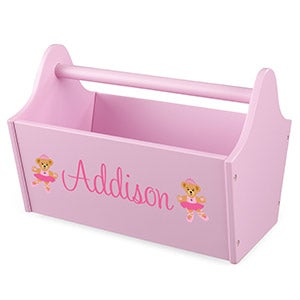 Personalized Kid Kraft Toy Caddy - 14819D