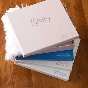 Personalized Baby Keepsake and Memory Box - 1481D