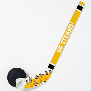 Personalized Mini Photo Hockey Stick - My Team - 14823