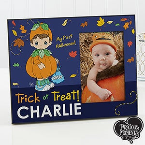 Personalized Halloween Picture Frame - Precious Moments - 14890