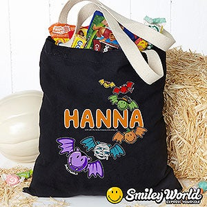 Personalized SmileyWorld Halloween Treat Bag - 14891