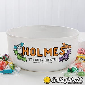 Personalization Mall Personalized SmileyWorld Halloween Bowl - Tricks & Treats at Sears.com