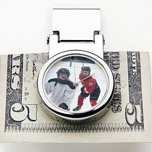 Personalized Photo Watch Money Clip - Favorite Faces - 14897D