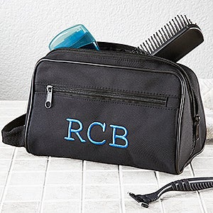 men s personalized travel case with monogram for him