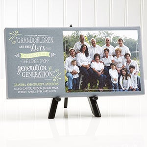 Personalized Photo Canvas Art - Our Grandchildren - 14918