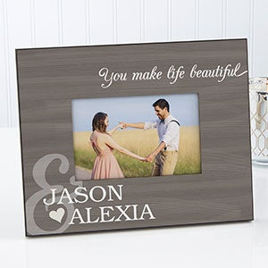 Personalized Romantic Picture Frame - You & Me - 14923