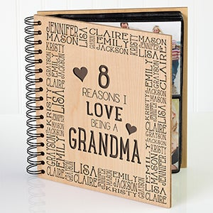 Personalized Photo Album - Reasons Why - For Her - 14947