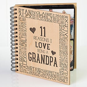 Personalized Photo Album - Reasons Why - For Him - 14948