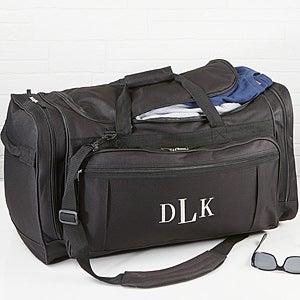 Embroidered Duffel Bag - Deluxe Weekender - 14993