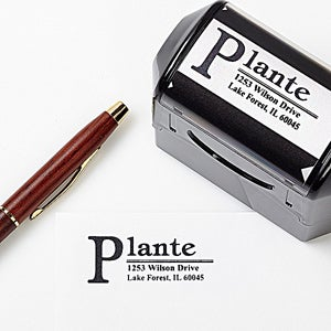 Self-Inking Personalized Return Address Stamps - Tipani - 1500