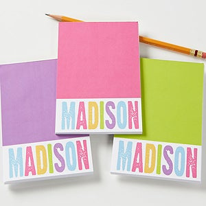 Personalized Mini Notepad - All Mine! - 15018