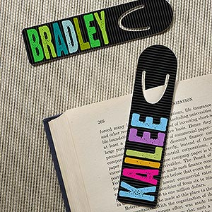Personalized kids Bookmarks - All Mine! - 15121