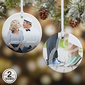 Personalized Couple Photo Ornament - You & I - 15140