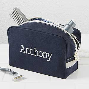 personalized men s travel toiletry bag classic canvas
