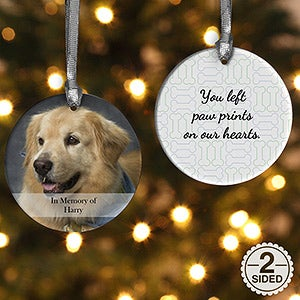 pet memorial ornaments for christmas and all year round