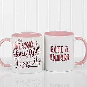 Personalized Romantic Coffee Mug