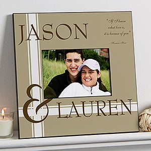 Personalized Romantic 5x7 Wall Frame - To Love You  - 15337